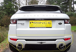 EVOQUE BODY STYLING UPGRADES TO SUIT PURE SPEC EVOQUE (REAR)