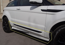 SIDE SILLS TO FIT PURE SPEC EVOQUE (SUPPLIED UNPAINTED) - £499