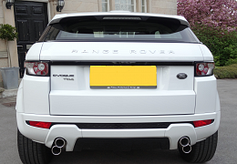 COLOUR-CODED EVOQUE REAR BUMPER TO SUIT PURE SPEC EVOQUE - £375