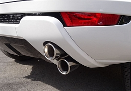 STAINLESS QUAD EXHAUST FINISHERS TO FIT PURE SPEC EVOQUE (FITTED) - £395